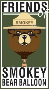 Smokey Bear Balloon Logo